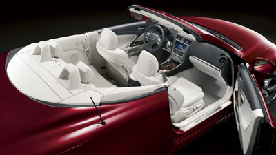 Completely Retracting Top Lexus Is 250 C